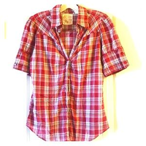 Tops - ✳️✳️5 for $20✳️✳️ Cute red flannel